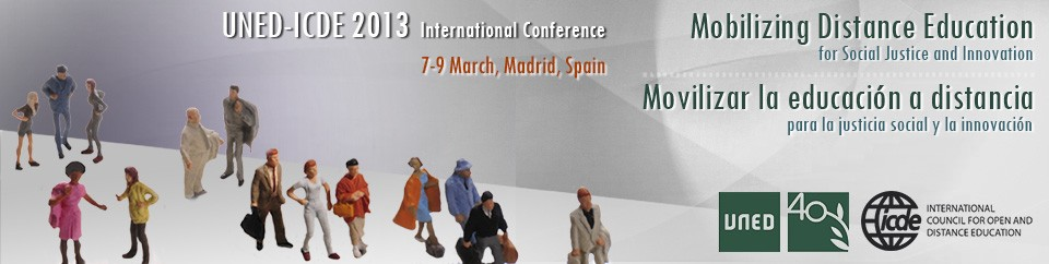 International Conference UNED-ICDE 2013